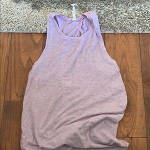 Lululemon purple yoga tank